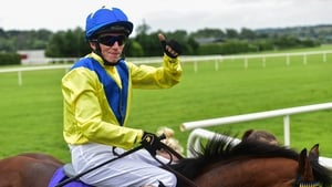 Jockey David Simmonson