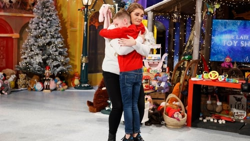 Heartwarming reunion on The Late Late Toy Show