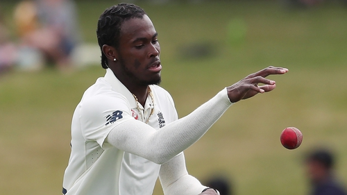 England's Jofra Archer claimed he heard racial insults from the crowd
