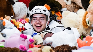 The stuffed toys are donated to around 40 charities ahead of the Festive season (Pic: Hershey Bears/Caroline O'Connor)
