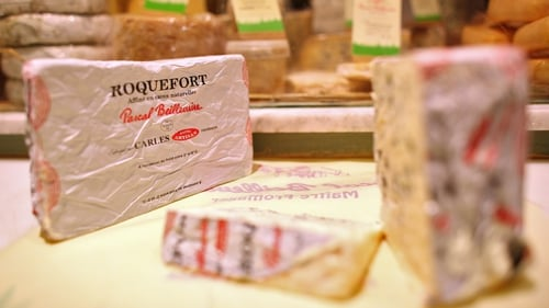 Roquefort cheese on list of goods that could be targeted as soon as mid-January