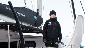 Greta Thunberg set sail from Virginia on 13 November