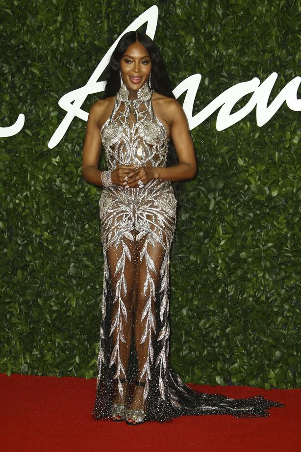 Naomi Campbell (Joel C Ryan/AP)