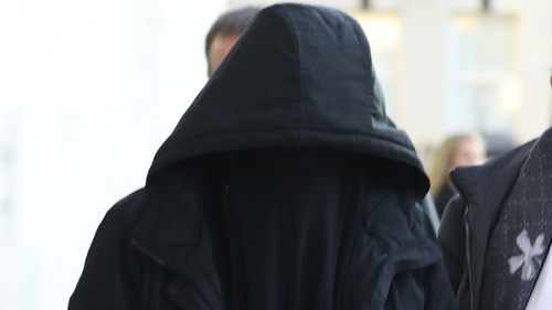 Lisa Smith seen leaving the Criminal Courts of Justice, Dublin earlier this week (pic: Collins Photos)