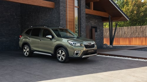 The new car is the 5th generation Forester and the first Subaru with a mild-hybrid function.
