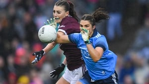 Niamh Collins in action against Áine McDonagh of Galway during this year's All-Ireland final