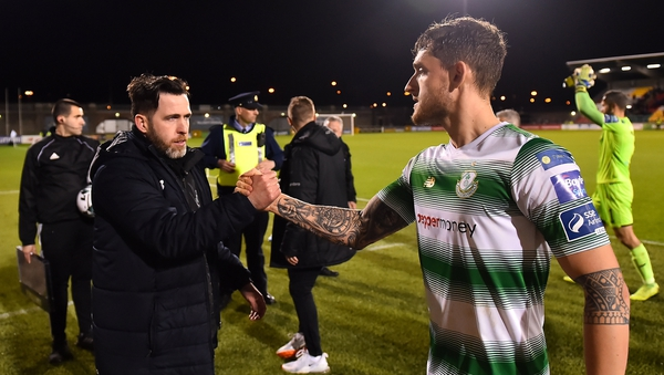 Stephen Bradley has described Lee Grace as a 'leader'