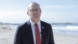 Simon Coveney was in Gaza today to make the announcement