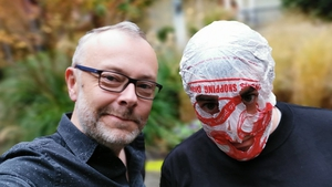 Book Show host Rick O'Shea with Blindboy