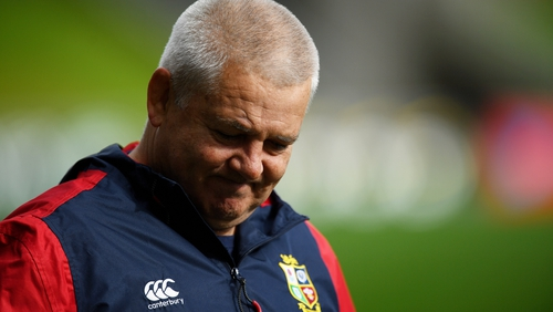 """Lions head coach Gatland said the one-off """"decider"""" against New Zealand could generate much-needed revenue when the sport resumes."""
