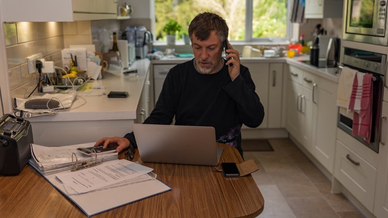 People working from home can apply for heating, electricity and perhaps broadband expenses.