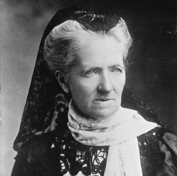 Charlotte Despard, suffragist, activist, advocate for Irish freedom and sister of the Lord Lieutenant, Sir John French Photo: Library of Congress Prints and Photographs Division Washington, D.C. 20540 USA