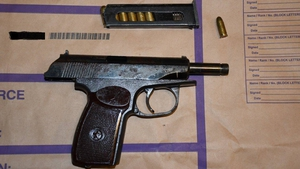 The Makarov handgun was seized in Rathowen, Co Westmeath