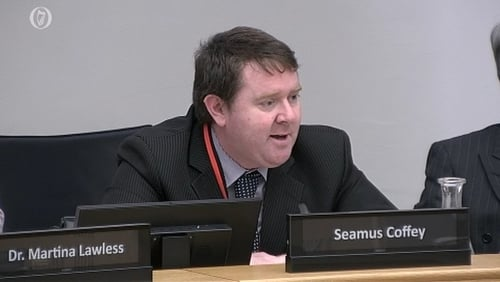 Seamus Coffey is the chairman of the Irish Fiscal Advisory Council
