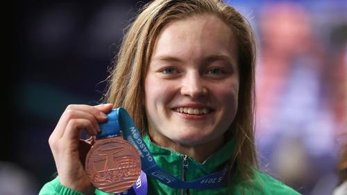 Mona McSharry takes home a medal