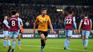 Leander Dendoncker celebrates his goal