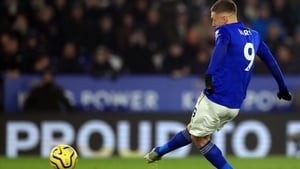Jamie Vardy was once again the match winner for the Foxes