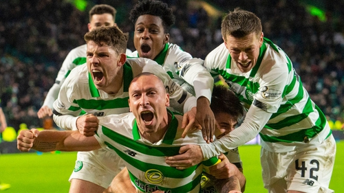 Scott Brown was the match winner for Celtic
