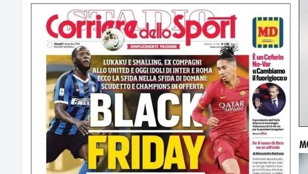 'You guys keep fuelling racism' - Lukaku and Smalling condemn 'Black Friday' headline