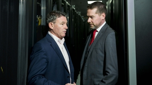Maurice Mortell, Managing Director Ireland at Equinix and Stuart Halford, Head of Technology Services at Goodbody