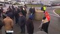 IFA blockade ALDI retail distribution centre in Kildare