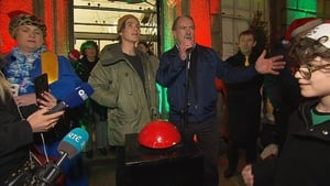 Mr McGuiness was speaking at at the launch of the Simon House of Light Festival where he was joined by Cillian Murphy