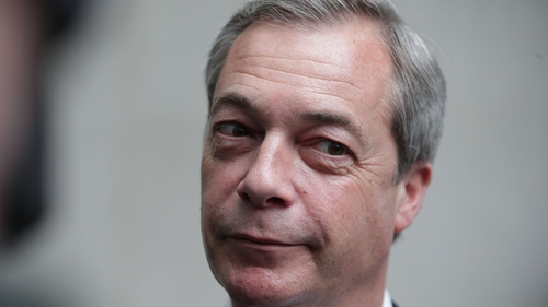 Mr Farage also said he he does not want Labour's Jeremy Corbyn in Downing Street