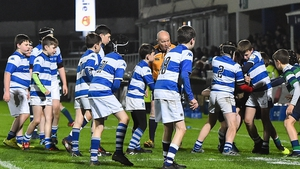 Athy RFC minis in action at the RDS