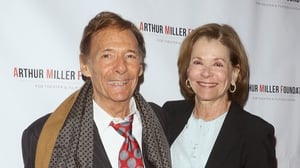 Ron Leibman and wife, actress Jessica Walter pictured in 2016