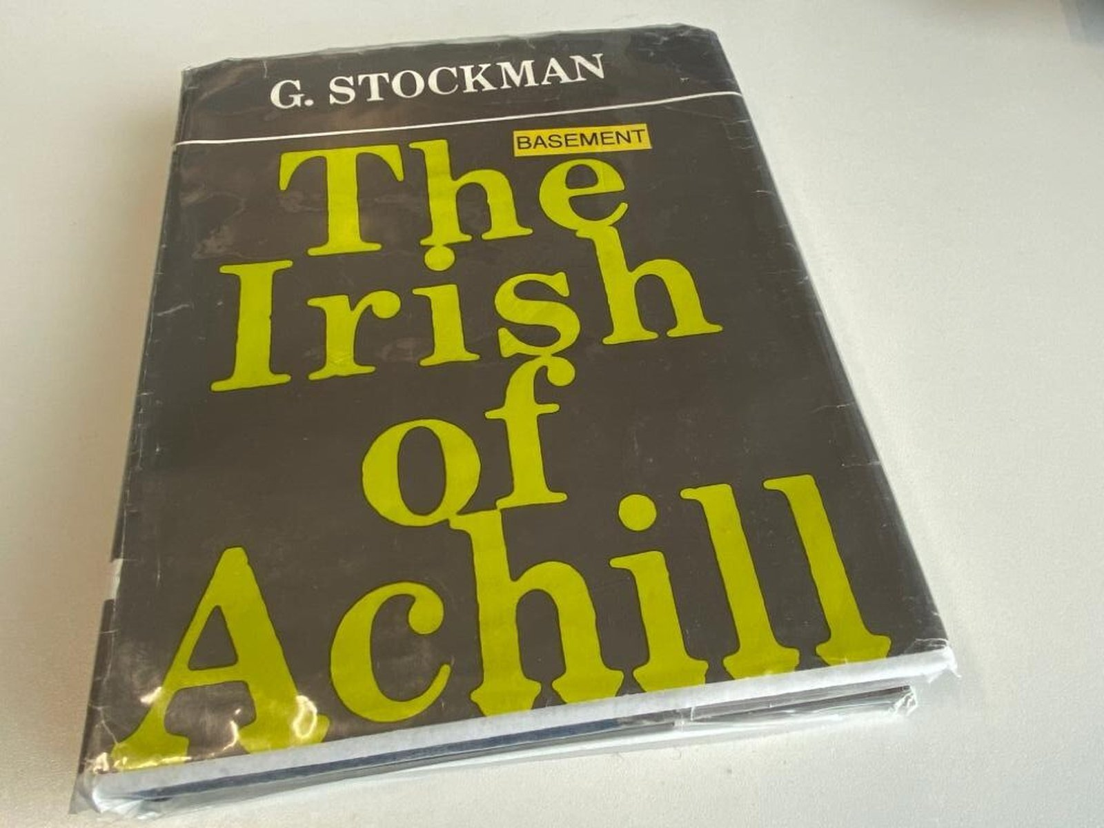 Image - Gearóid Stockman's book on the Irish dialect of Achill (1974)