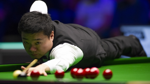 Ding Junhui is set to compete at the Crucible