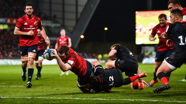 Peter O'Mahony scored the game's only try