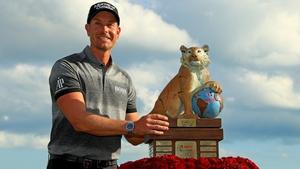 Henrik Stenson won Tiger Woods' tournament last season