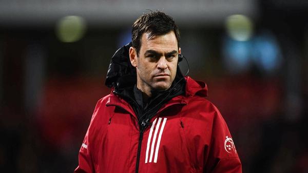 Johann van Graan is entering his fourth full season in charge of Munster