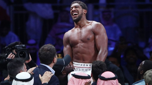 Joshua stuck to his back-foot game plan in Saudi Arabia to pick off a clear 118-110 (twice), 119-109 verdict