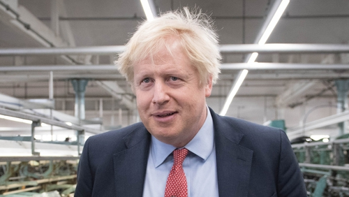Boris Johnson said the govt documents shared by Labour are wrong