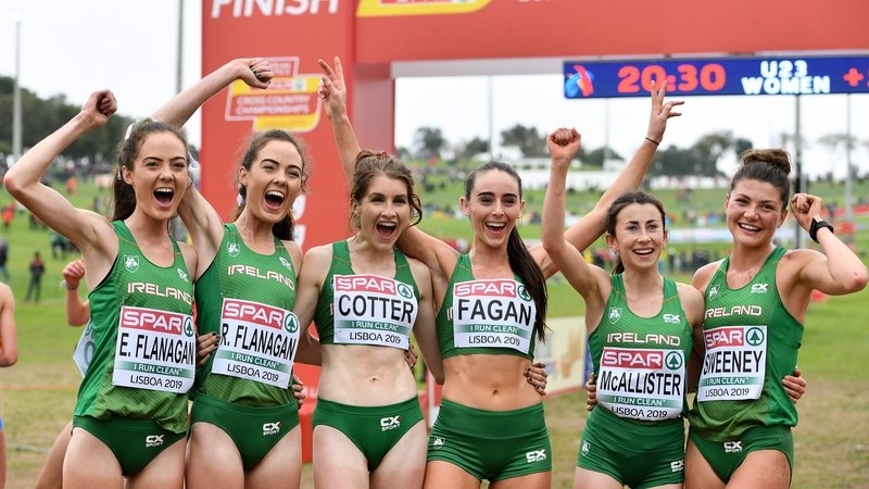 Medal success for Ireland at Cross Country in Lisbon