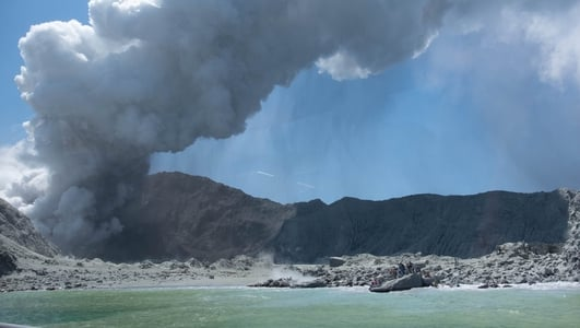 Five people killed after New Zealand volcano erupts