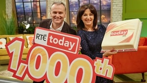 Today with Maura and Dáithí celebrate 1000th episode on Monday