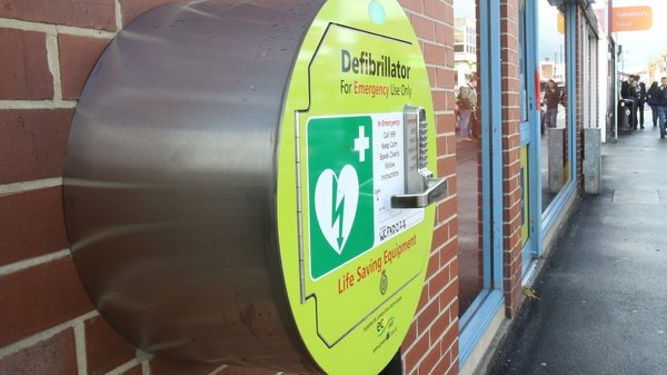 Two defibrillators stolen over the weekend, the other was taken in Co Wicklow (File pic PA)