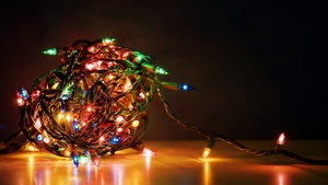 Don't get tangled up this Christmas. Photo: Getty
