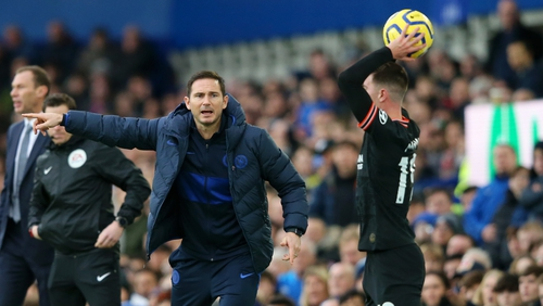 Frank Lampard gives update on January transfer plans