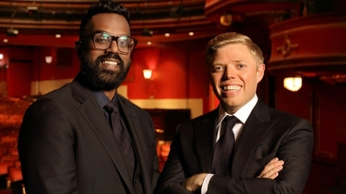 Romesh Ranganathan and Rob Beckett host The Royal Variety Performance