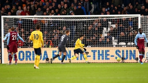 Gabriel Martinelli scores Arsenal's opener