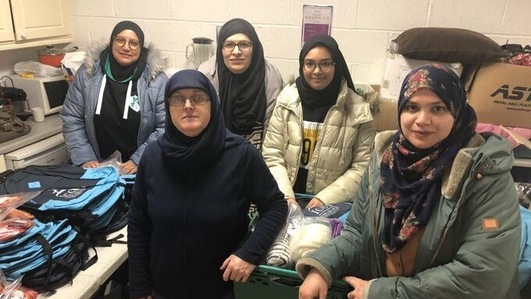 Muslim women's group shortlisted for national award