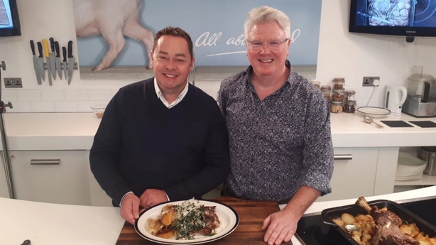 Neven Maguire and Paul Flynn