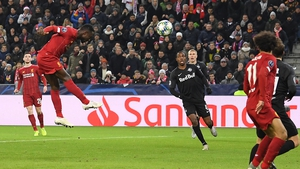 Naby Keita gave Liverpool the lead with a header