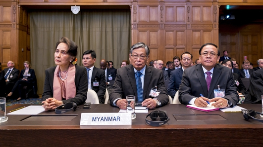 Case against Myanmar set out at The Hague