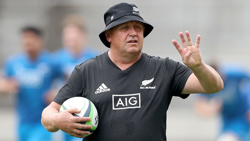Ian Foster served eight years as Steve Hansen's assistant