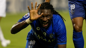 Bafetimbi Gomis will be hoping to fire Al-Hilal to glory